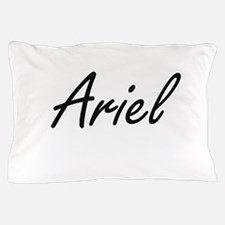 Ariel artistic Name Design Pillow Case