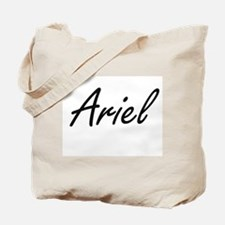 Ariel artistic Name Design Tote Bag