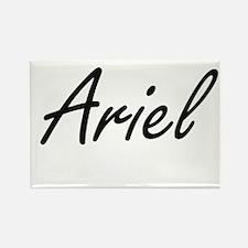 Ariel artistic Name Design Magnets