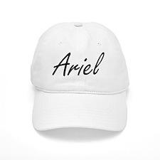 Ariel artistic Name Design Baseball Cap