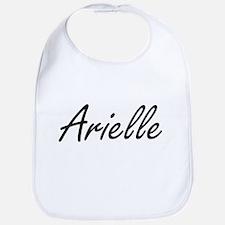 Arielle artistic Name Design Bib