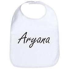 Aryana artistic Name Design Bib