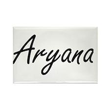 Aryana artistic Name Design Magnets