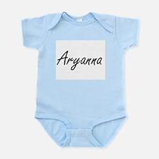 Aryanna artistic Name Design Body Suit