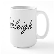 Ashleigh artistic Name Design Mugs