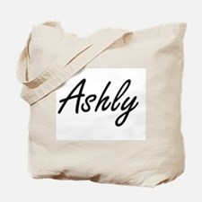 Ashly artistic Name Design Tote Bag