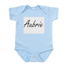 Aubrie artistic Name Design Body Suit