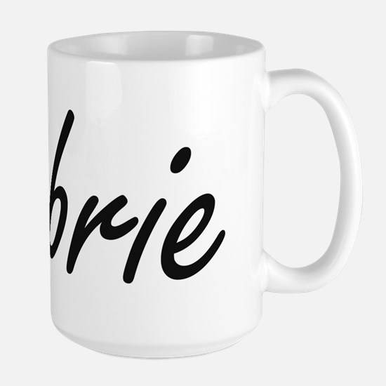 Aubrie artistic Name Design Mugs