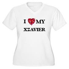 I love my Xzavier Plus Size T-Shirt