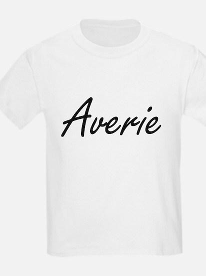 Averie artistic Name Design T-Shirt