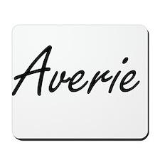 Averie artistic Name Design Mousepad