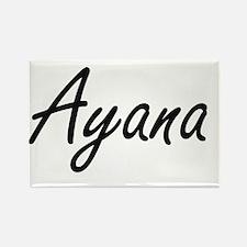Ayana artistic Name Design Magnets