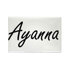 Ayanna artistic Name Design Magnets