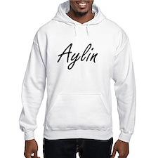 Aylin artistic Name Design Hoodie Sweatshirt