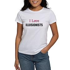 I Love ILLUSIONISTS Tee