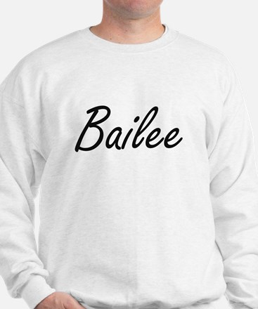 Bailee artistic Name Design Sweater