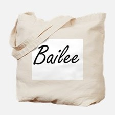 Bailee artistic Name Design Tote Bag