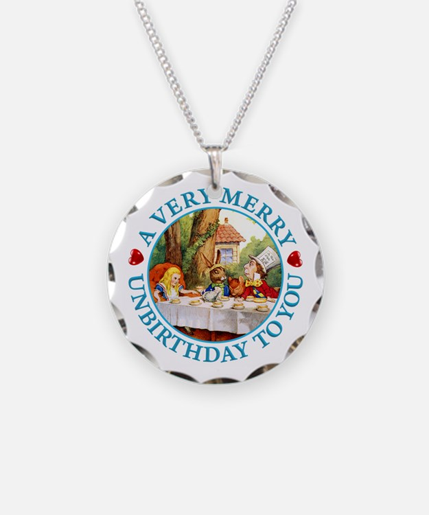 A Very Merry Unbirthday To Y Necklace