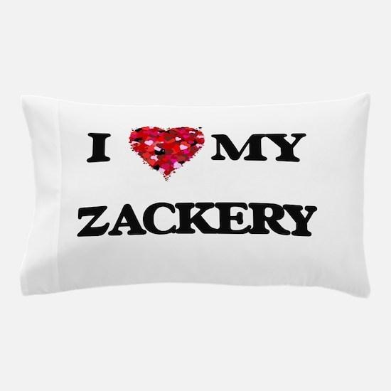I love my Zackery Pillow Case