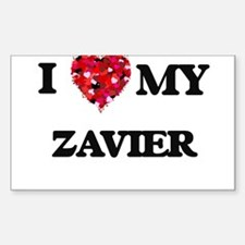 I love my Zavier Decal