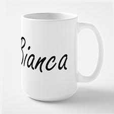 Bianca artistic Name Design Mugs