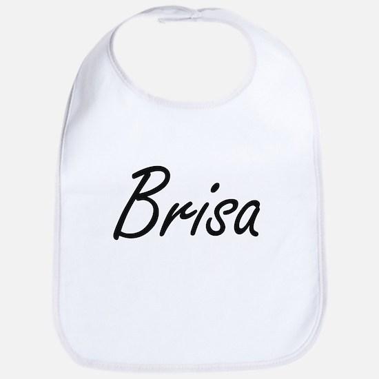 Brisa artistic Name Design Bib