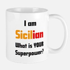 i am sicilian Mug