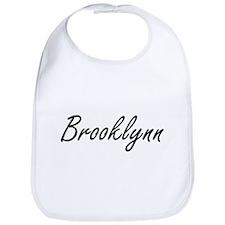Brooklynn artistic Name Design Bib