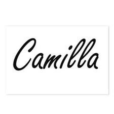 Camilla artistic Name Des Postcards (Package of 8)