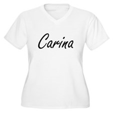 Carina artistic Name Design Plus Size T-Shirt