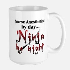 Nurse Anesthetist Ninja Mugs