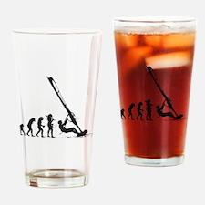 Windsurfing Drinking Glass