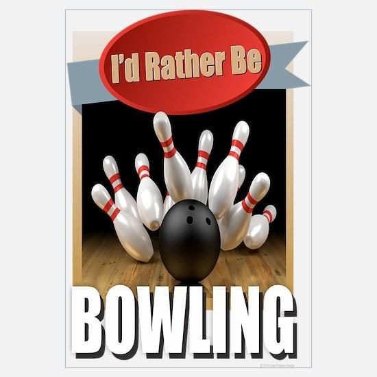 Funny Bowling Wall Art