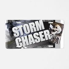 Cute Tornado chaser Aluminum License Plate