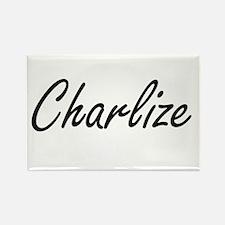 Charlize artistic Name Design Magnets