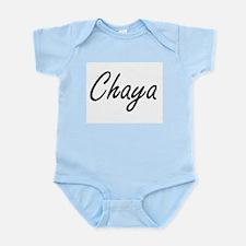 Chaya artistic Name Design Body Suit