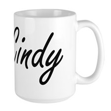 Cindy artistic Name Design Mugs