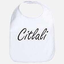 Citlali artistic Name Design Bib