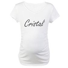 Cristal artistic Name Design Shirt