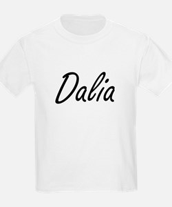 Dalia artistic Name Design T-Shirt