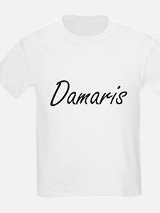 Damaris artistic Name Design T-Shirt