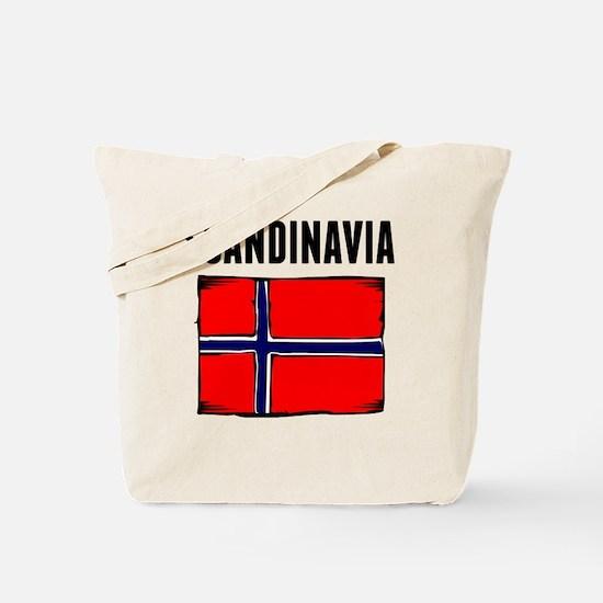 Scandinavia Flag Tote Bag