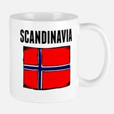 Scandinavia Flag Mugs