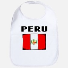 Peru Flag Bib