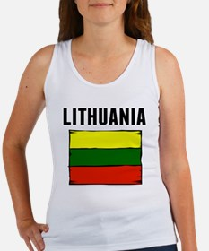 Lithuania Flag Tank Top