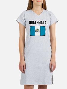 Guatemala Flag Women's Nightshirt