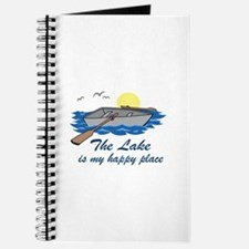 Lake Is My Happy Place Journal