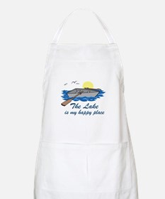 Lake Is My Happy Place Apron
