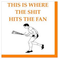 lacrosse joke Poster