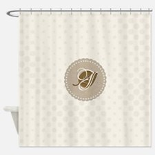 Cute Gardener Badge Shower Curtain